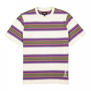 Stussy Multi Stripe Crew ( 1140191 / 1002 / Natural )