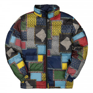 Stussy Puffer Jacket ( 115485 / 1408 / Multicolor )