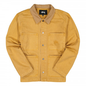 Stussy Heavy Wash Core Jacket ( 115510 / 0205 / Gold )