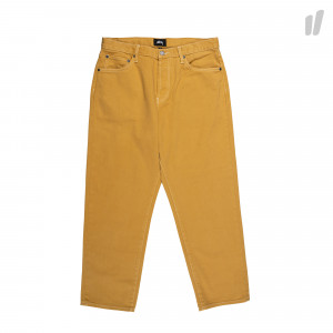Stussy Overdyed Big Ol' Jeans ( 116378 / 0408 / Lemon )