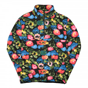 Stussy Basic Polar Fleece Mock ( 118333 / 18983 / Floral )