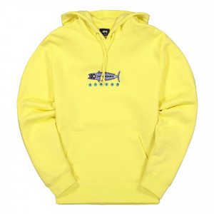 Stussy Fish App. Hood ( 118355 / 0408 / Lemon )