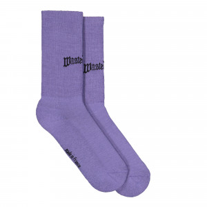 Wasted Paris Bridge Socks ( 123241 / Purple )