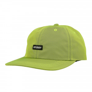 Stussy Rubber Patch Low Pro Cap ( 131862 / 0412 / Lime )