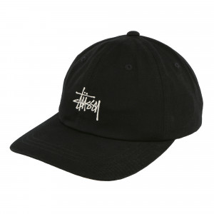 Stussy Stock Low Pro Cap ( 131903 / 0001 / Black )