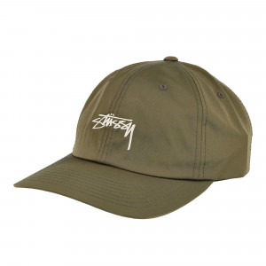 Stussy Lined Nylon Low Pro Cap ( 131928 / 0401 / Green )