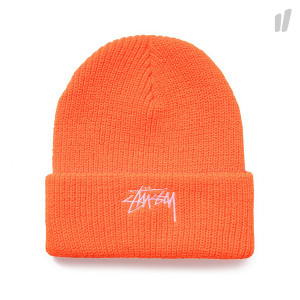 Stussy Stock Cuff Beanie ( 132901 / 0712 / Blaze Orange )