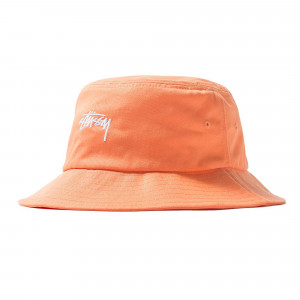 Stussy SP19 Stock Bucket Hat ( 132917 / 0609 / Peach )