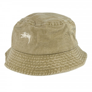 Stussy Stock Washed Bucket Hat ( 132980 / 1007 / Khaki )