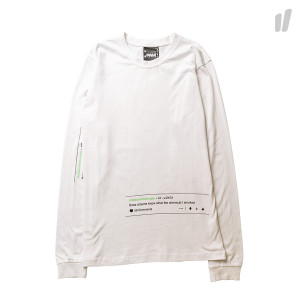 Perks And Mini Better Living LS Tee ( 1339 / B-W White )