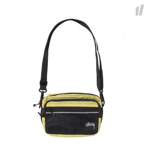 Stussy Diamond Ripstop Shoulder Bag ( 134191 / 0412 / Lime )