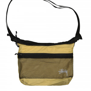 Stussy Light Weight Shoulder Bag ( 134212 / 0205 / Gold )