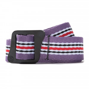 Stussy Striped Climbing Web Belt ( 135157 / 0623 / Berry )