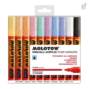 Molotow One4All 227HS Pastel-Set 2 (10 Pack)