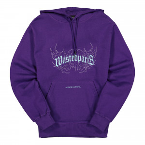 Wasted Paris Shadow Bridge Hoodie ( 138139 / Deep Purple )