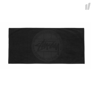 Stussy Stock Dot Towel ( 138653 / 0001 / Black )
