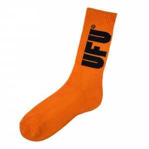 Used Future UFU Socks ( 15A-SC-101 / Orange )