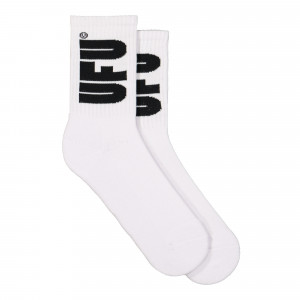 Used Future UFU Socks ( 15A-SC-101 / White / Black )