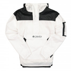 Columbia Challenger Windbreaker ( 1714291101 / White - Black )