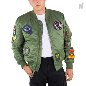 Alpha Industries MA-1 VF DIY Jacket ( 178122 / 01 / Sage Green )