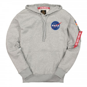 Alpha Industries Space Shuttle Hoody ( 178317 / 17 / Grey Heather )