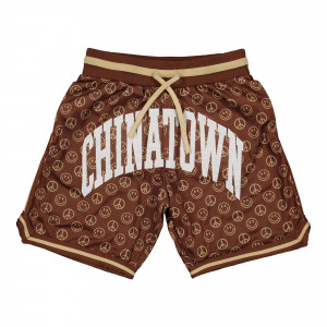 Chinatown Market Smiley Cabana Basketball Short ( 1880003 / 1001 / Brown )