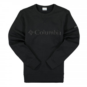 Columbia Logo Fleece Crew ( 1884931011 / Black Puff Logo )