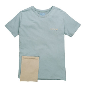 C2H4 Component Pocket Tee ( 18FW-002 / Starlight Blue )