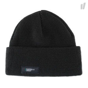 Guerrilla Group ES Knit Beanie ( 18S-ES-AH01 / Black )