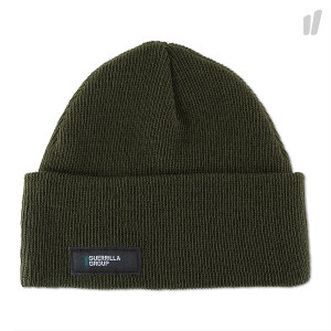 Guerrilla Group ES Knit Beanie ( 18S-ES-AH01 / Olive )
