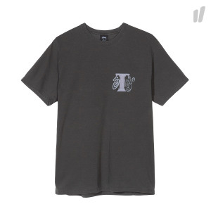 Stussy Column Pigment Dyed Tee ( 1904354 / 0001 / Black )
