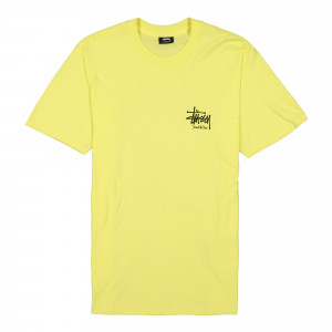 Stussy ITP Lion Tee ( 1904477 / 0408 / Lemon )
