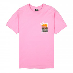Stussy Clear Day Tee ( 1904502 / 0604 / Pink )
