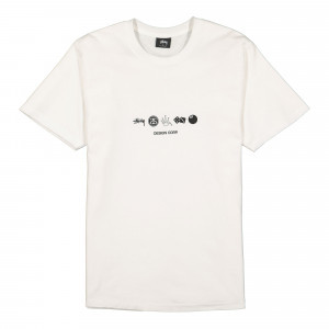 Stussy Global Design Corporation Tee ( 1904506 / 1201 / White )