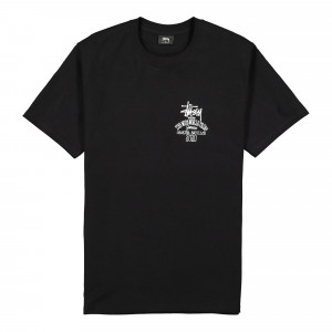 Stussy Jamaica World Tribe Tee ( 1904507 / 0001 / Black )