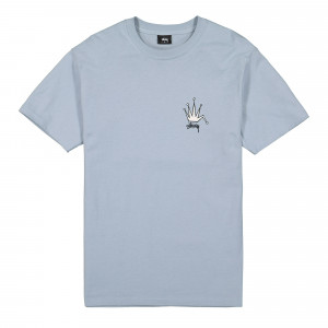 Stussy Old Crown Tee ( 1904510 / 0007 / Slate )