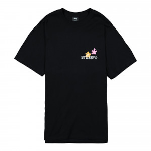 Stussy City Flowers Tee ( 1904536 / 0001 / Black )