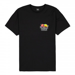 Stussy Fresh Fruit Tee ( 1904542 / 0001 / Black )
