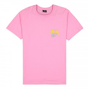 Stussy Super Bloom Tee ( 1904550 / 0604 / Pink )