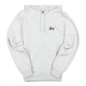 Stussy Basic Hood ( 1924464 / 0062 / Ash Heather )