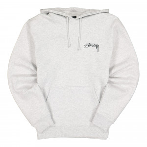Stussy Itp Roses Hood ( 1924574 / 0062 / Ash Heather )