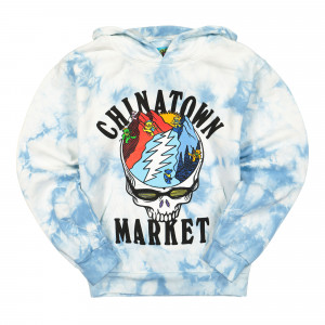 Grateful Dead x Chinatown Market Mountain Hoodie ( 1970091 / 2198 / Blue Tie Dye )