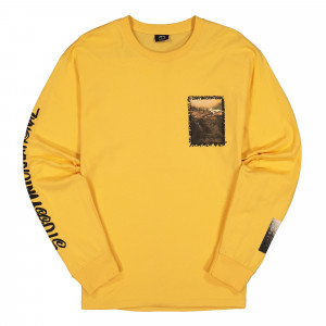Stussy Great Outdoors Longsleeve Tee ( 1994492 / 0602 / Orange )