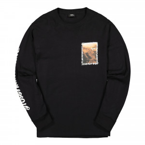 Stussy Great Outdoors Longsleeve Tee ( 1994492 / 0001 / Black )