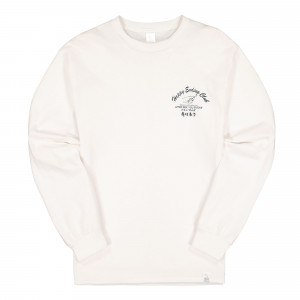 Magic Stick Happy Ending Club Merch Longsleeve Tee ( 19FW-MS8-026 / White )