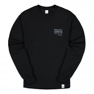 Magic Stick Olympia Longsleeve Tee ( 19FW-MS9-043 / Black 3M )