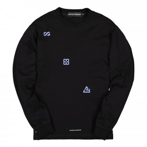 United Standard Virgil Logos Long Sleeve Shirt ( 19WUSLS18 / 003 Black )