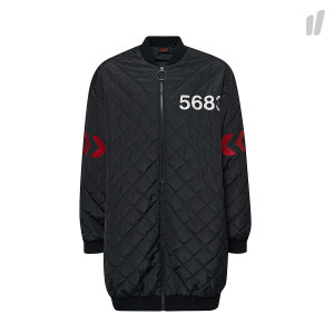 Willy Chavarria x Hummel Quilted Jacket ( 203-838-2001 / Black )