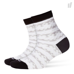 Burlington Wmns Transparent Geo Socks ( 20397-3000 )