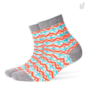 Burlington Wmns Transparent Geo Socks ( 20397-3615 )